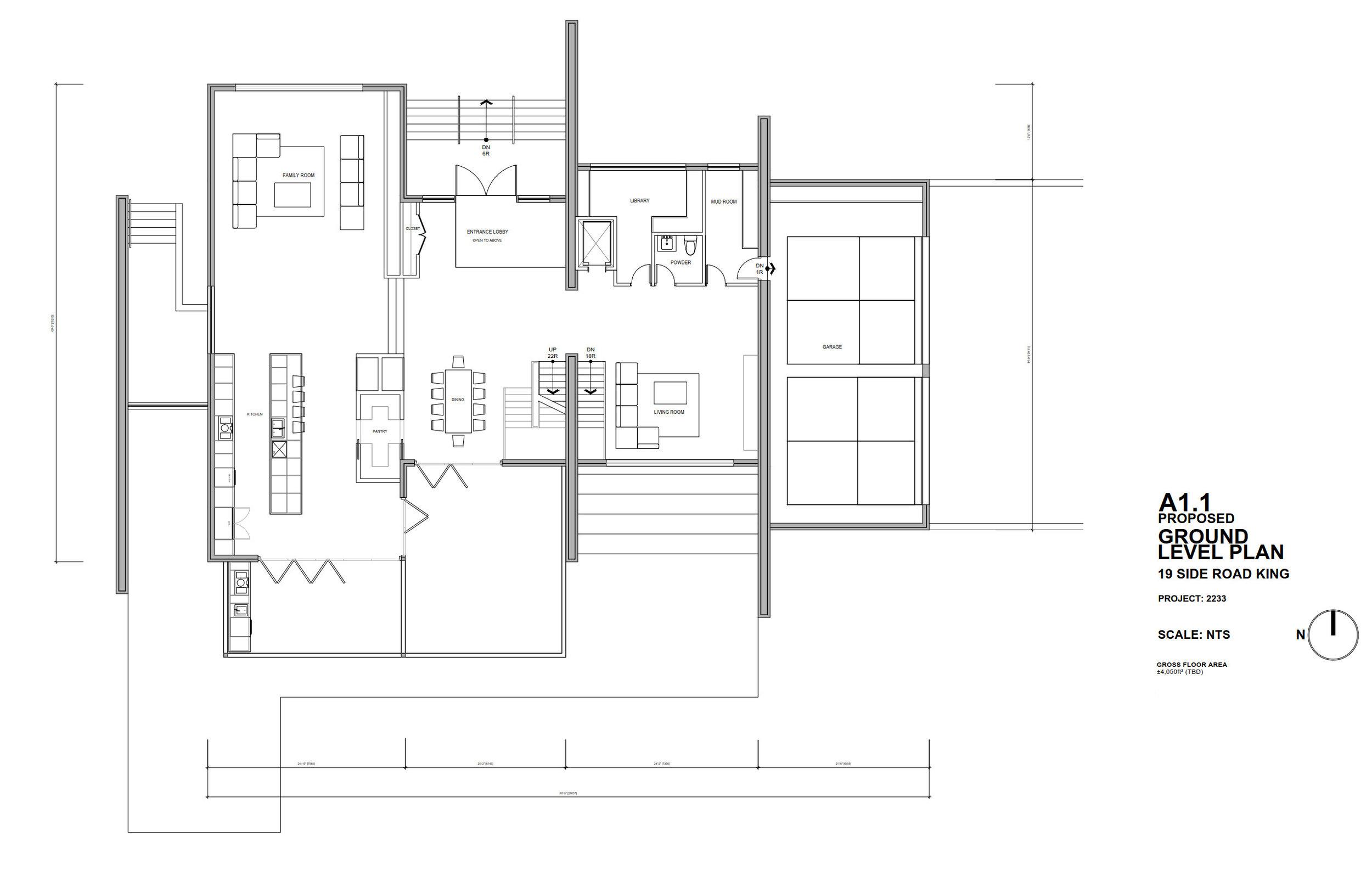 Drawing, Plan, Ground Floor