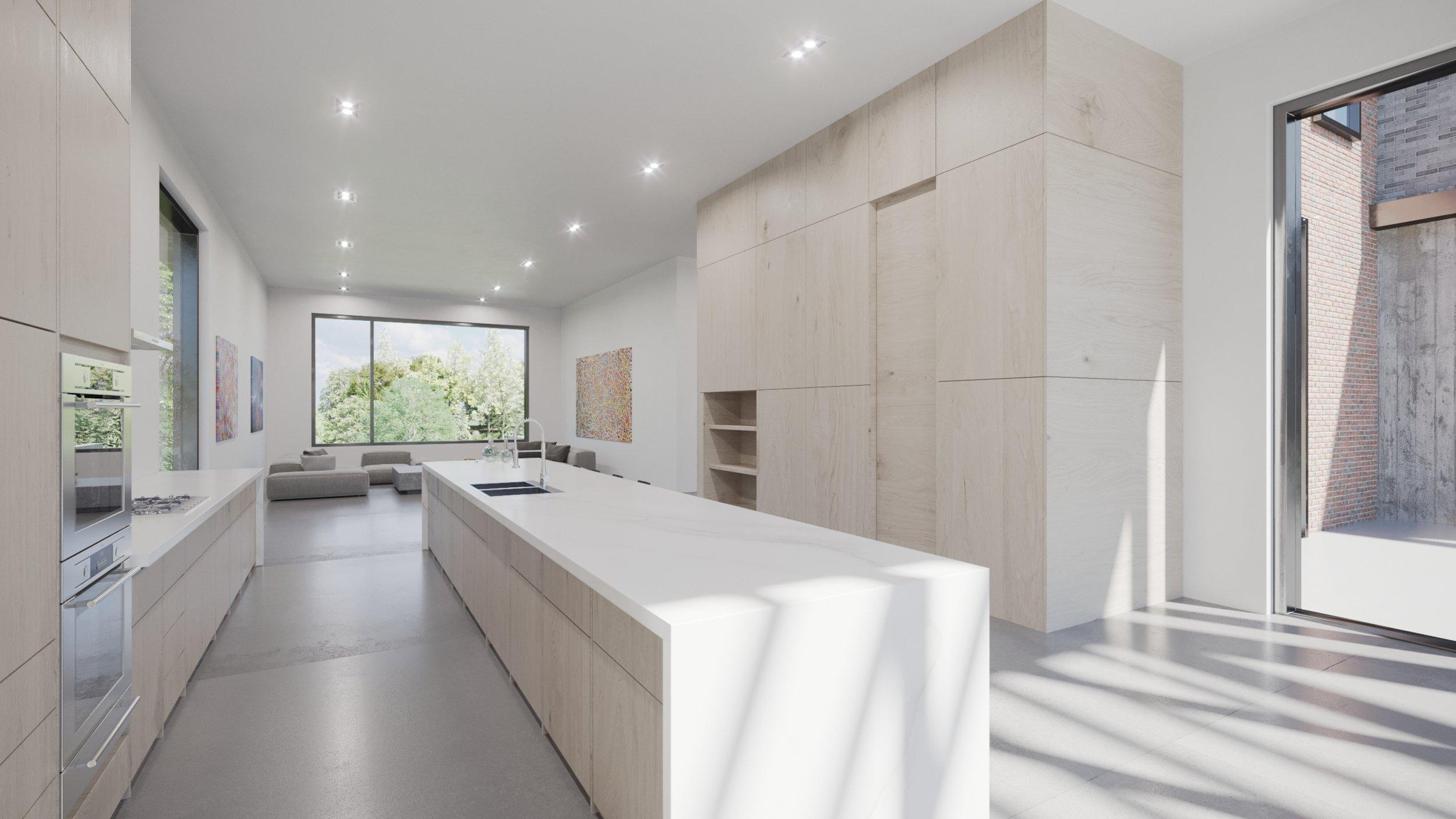 Render, Interior, Kitchen