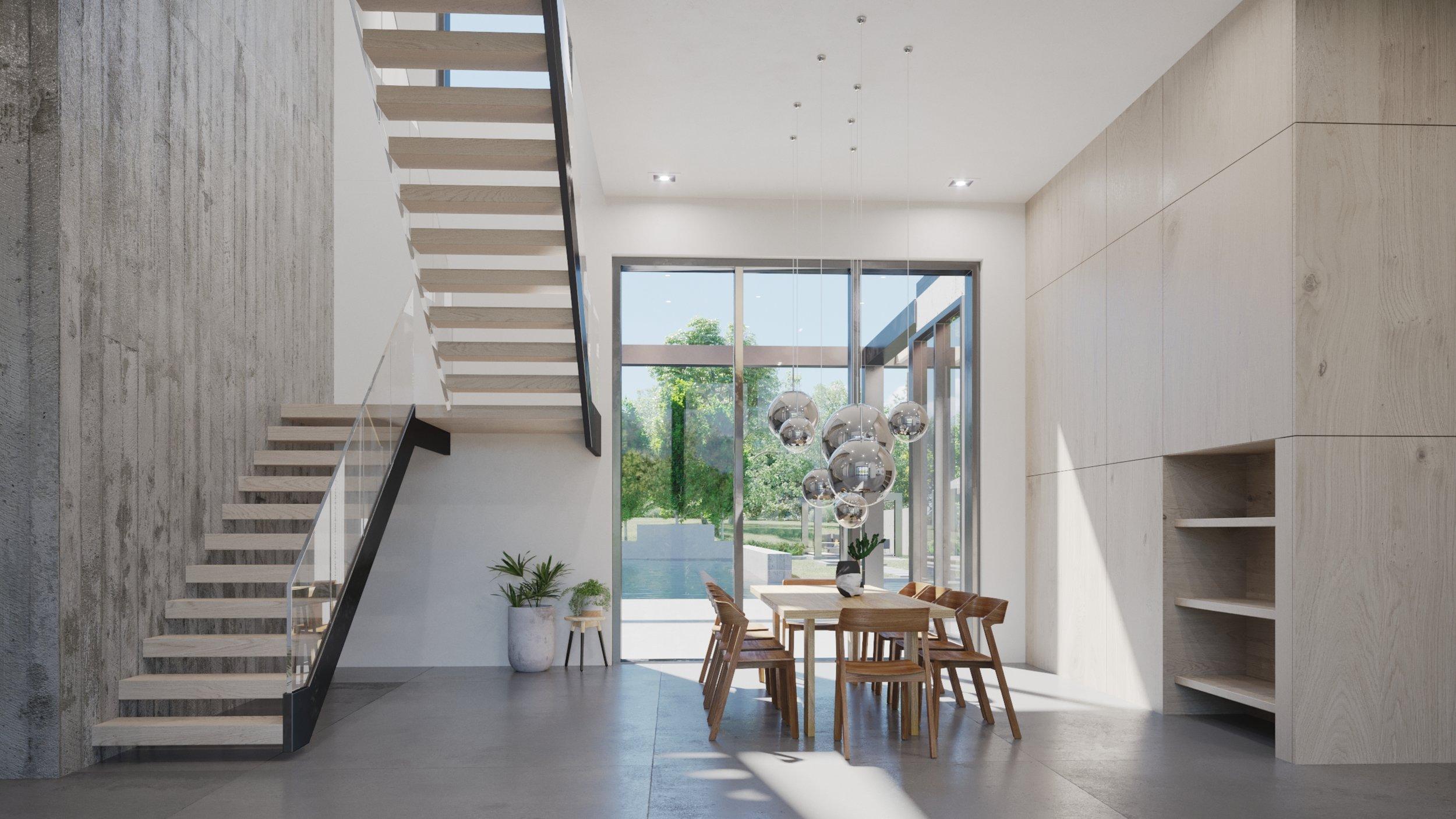 Render, Interior, Entry Foyer