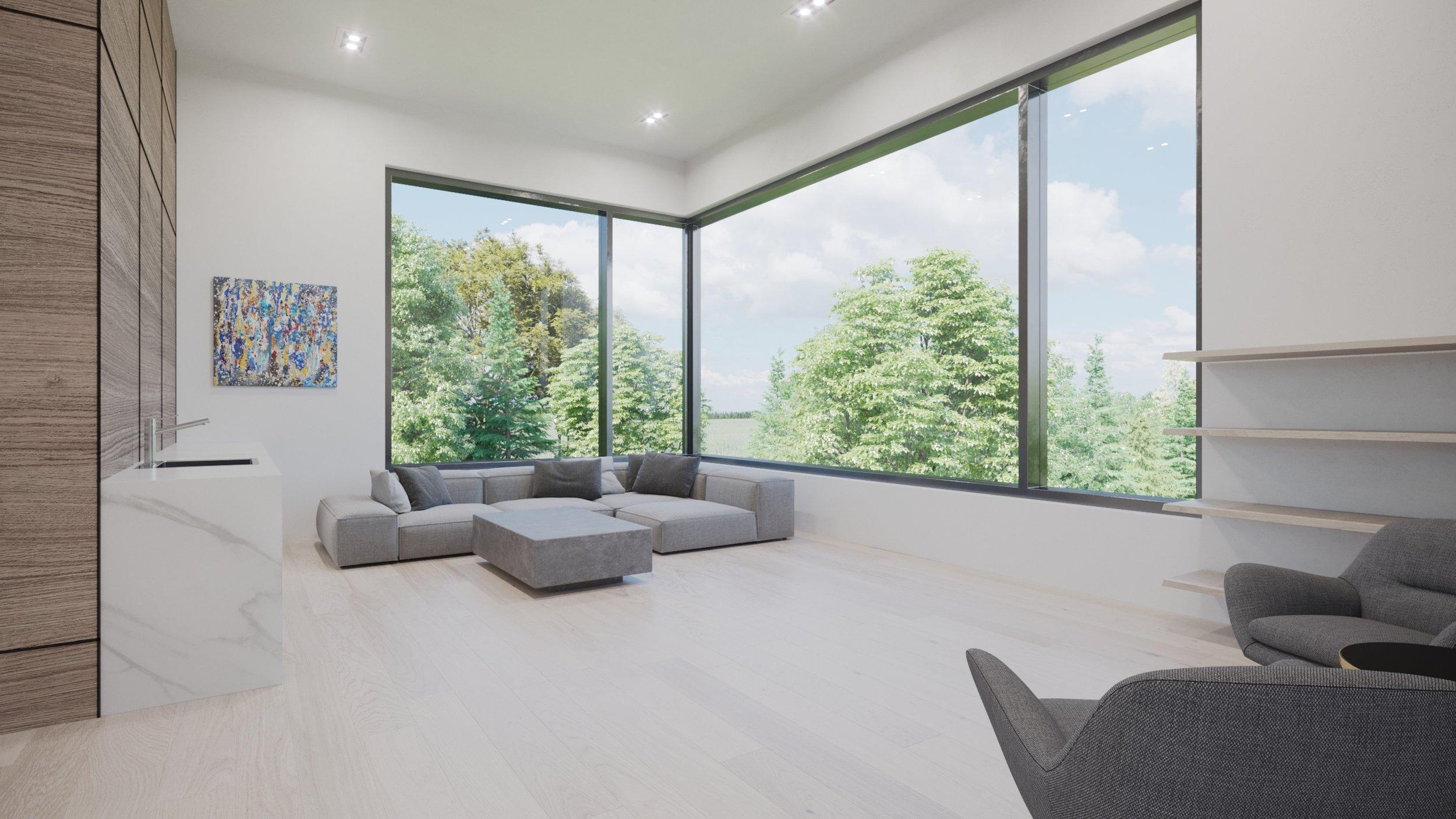 Render, Interior, Master Suite Lounge