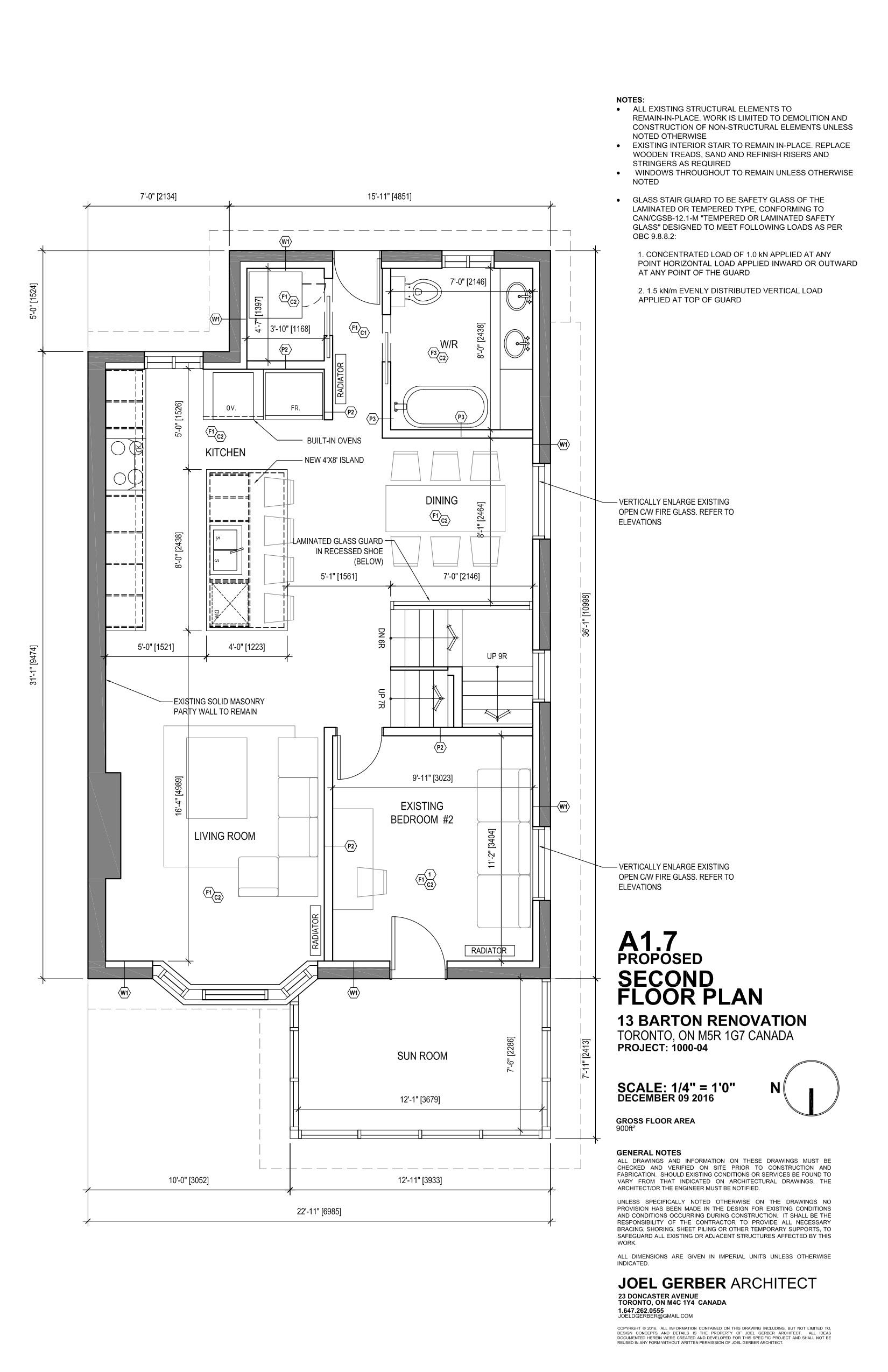 Drawing, Second Floor