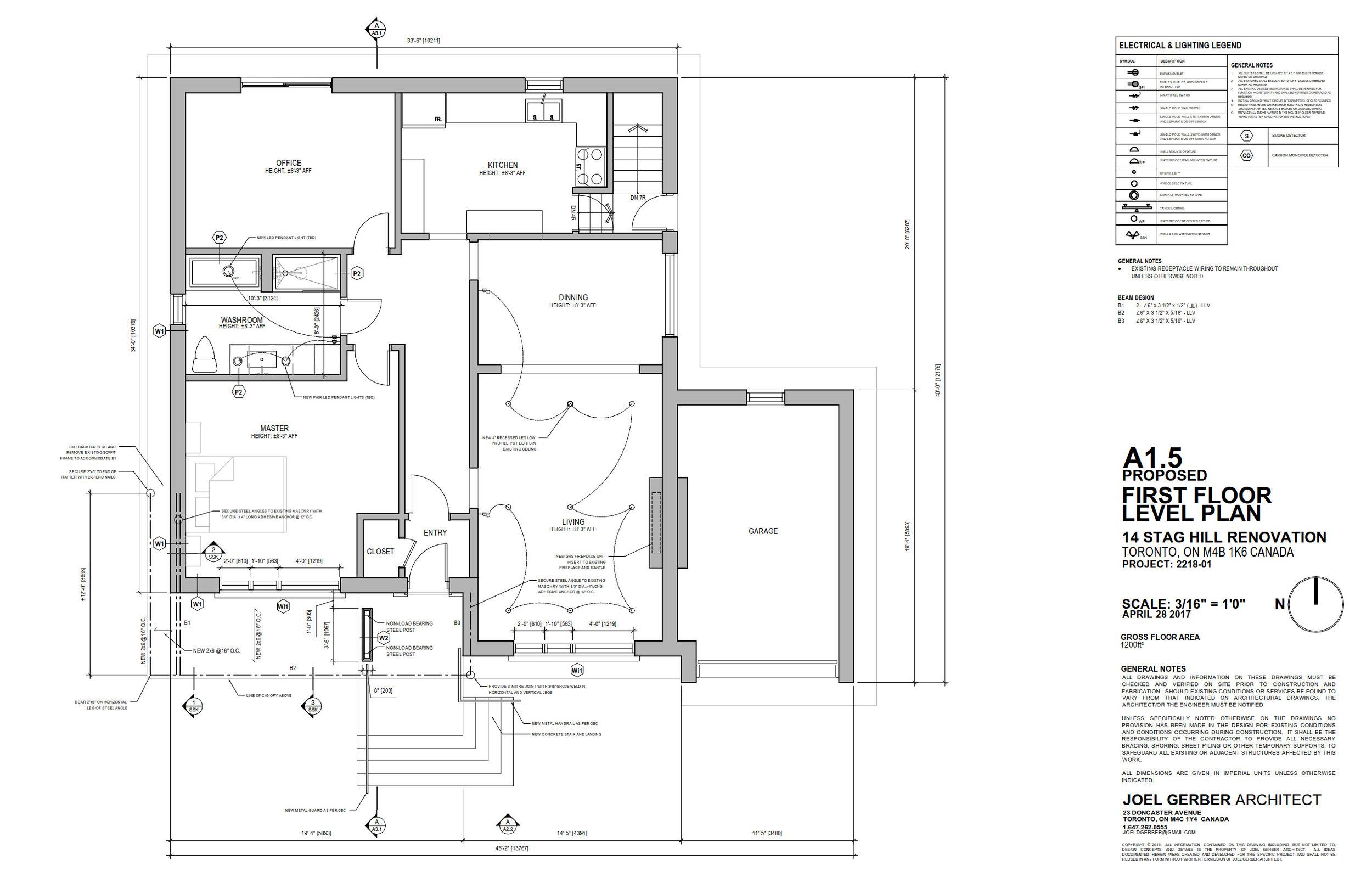Drawing, Ground Floor