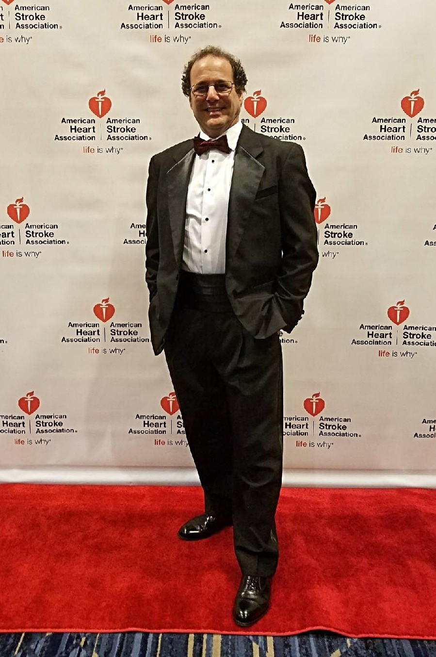 Aaron at the Heart and Stroke Gala on February 9, 2018