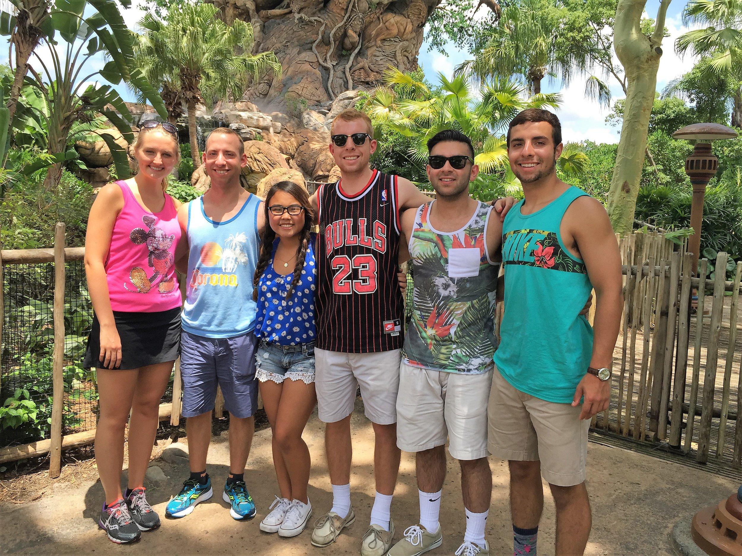 June 23, 2015. Maria, Grant, Laney, Alec, Jhonny and Nick. Nick starting to bulk up.