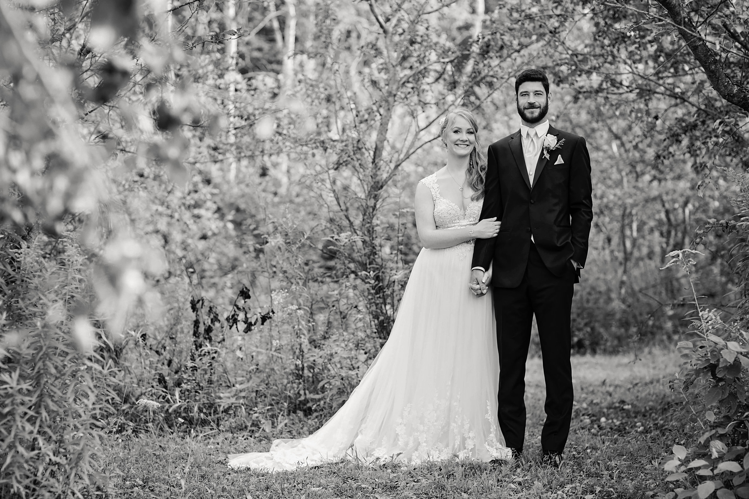 Morgan Bress Photography | Lindsay Wedding Photographer | Kawartha Lakes Wedding Photographer | Ontario Wedding Photographer |  Apple Orchard Wedding, Wedding Love, Romance, Light and Airy, Black and White Photography