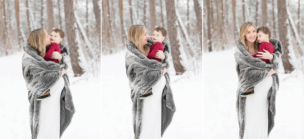 Winter Maternity Session | Morgan Bress Photography