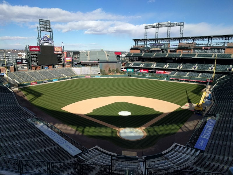Coors Field in downtown Denver, Colorado