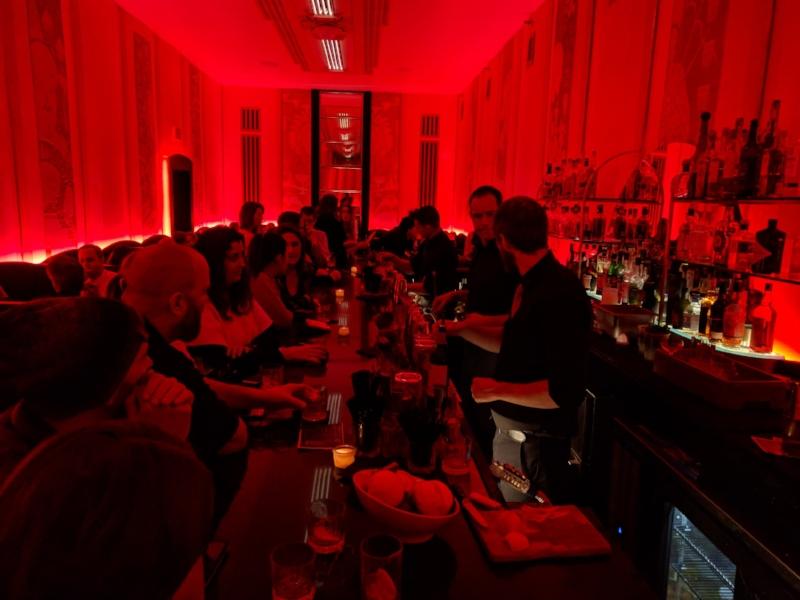 Cruise Room bar inside the Oxford Hotel in Denver