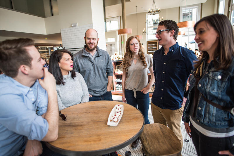 Guests at Mercantile Dining and Provisions in Denver Union Station