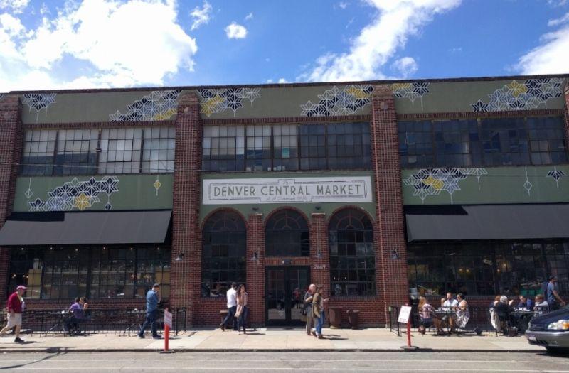 Denver Central Market Entrance