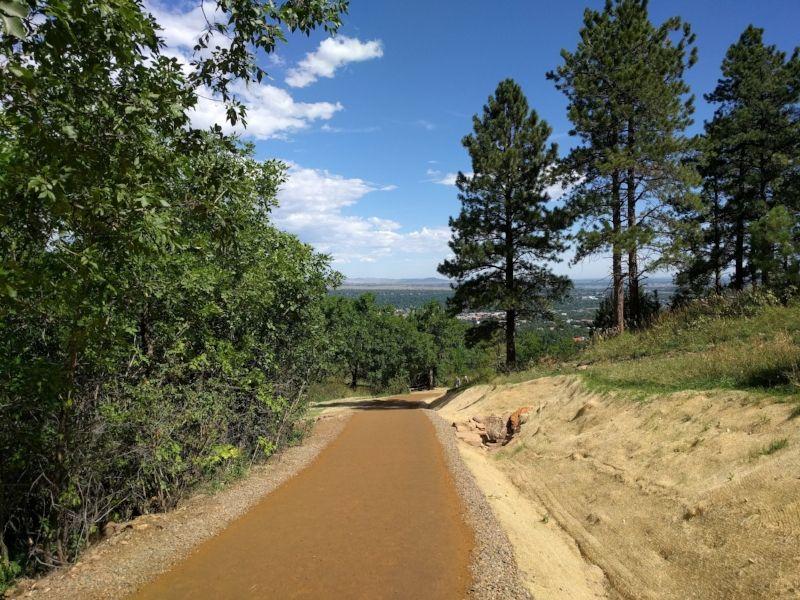 Chautauqua Trailhead in Boulder, CO