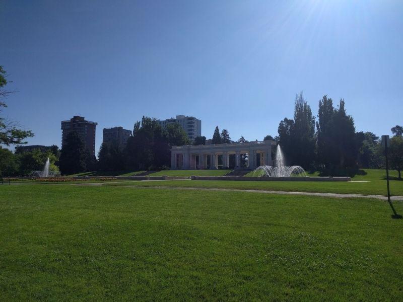 Cheesman Park in Denver, Colorado
