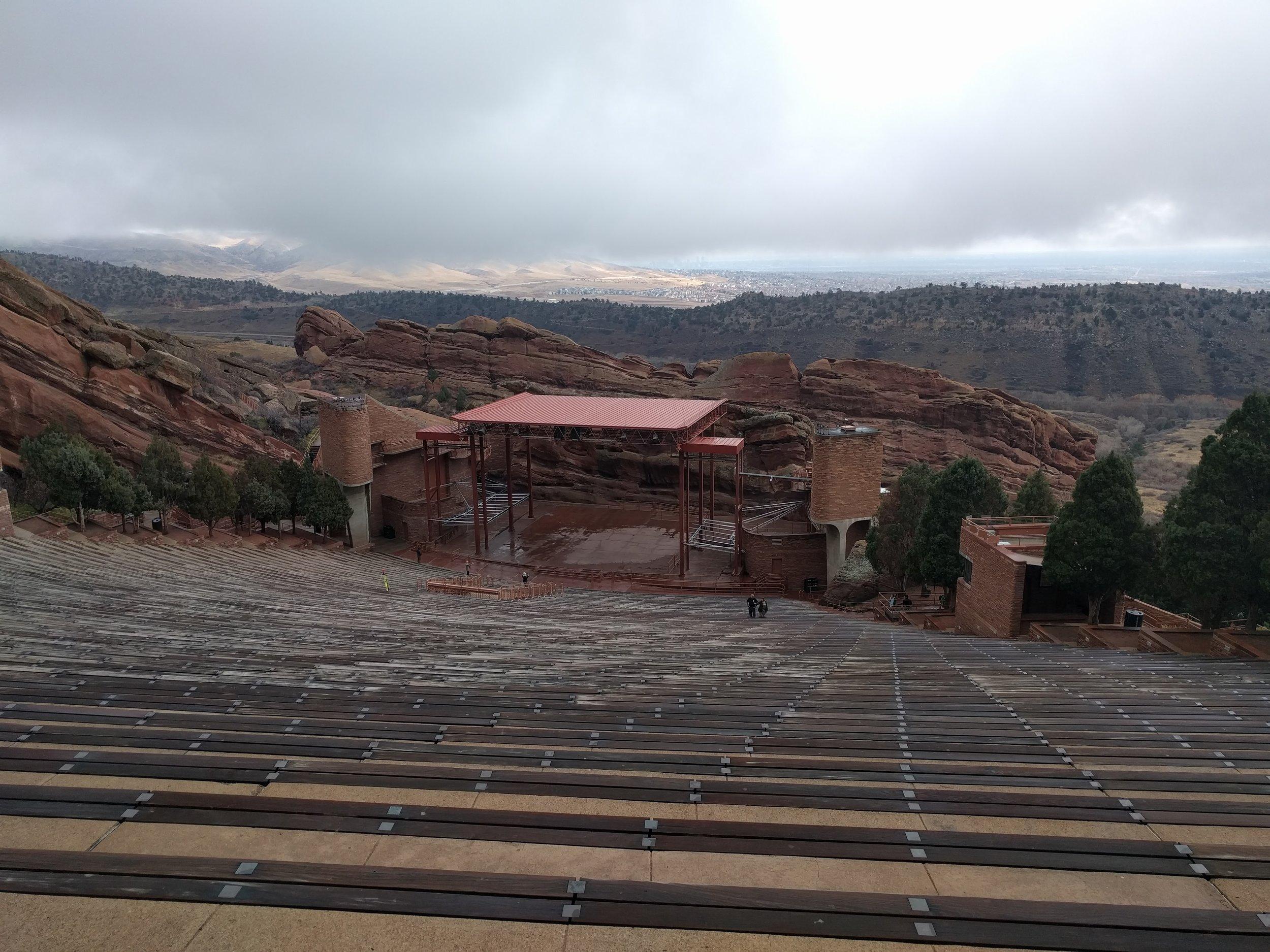 Red Rocks Amphitheater in Morrison, CO