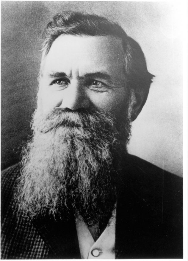 DANIEL DAVID PALMER  The founder of chiropractic.