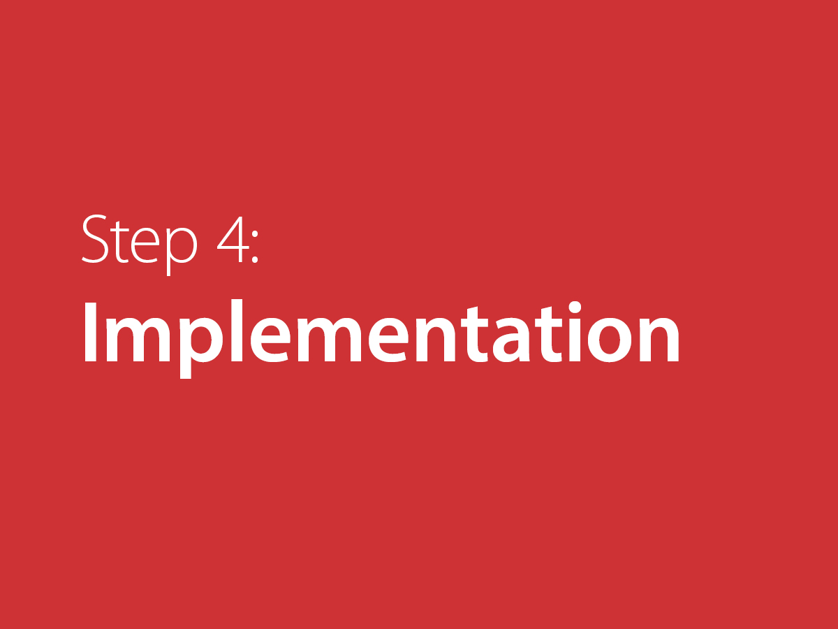 - Acquire Additional Tools for ImplementationImplement Your Action PlanTeam Sharing and LearningPractice Telling Your StoryExplore Additional Case Studies