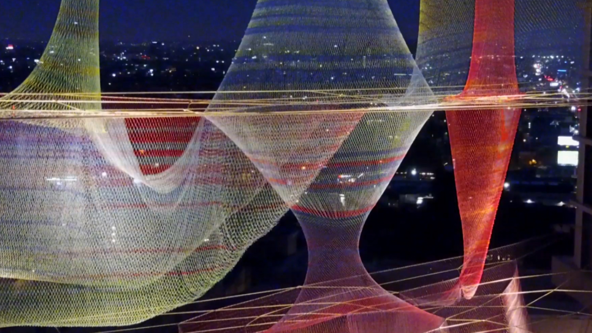 "Janet Echelman Looms Large - Echelman's sculptures are the ""net"" result of technology, engineering, and civic engagement.Season 2, Episode 2"
