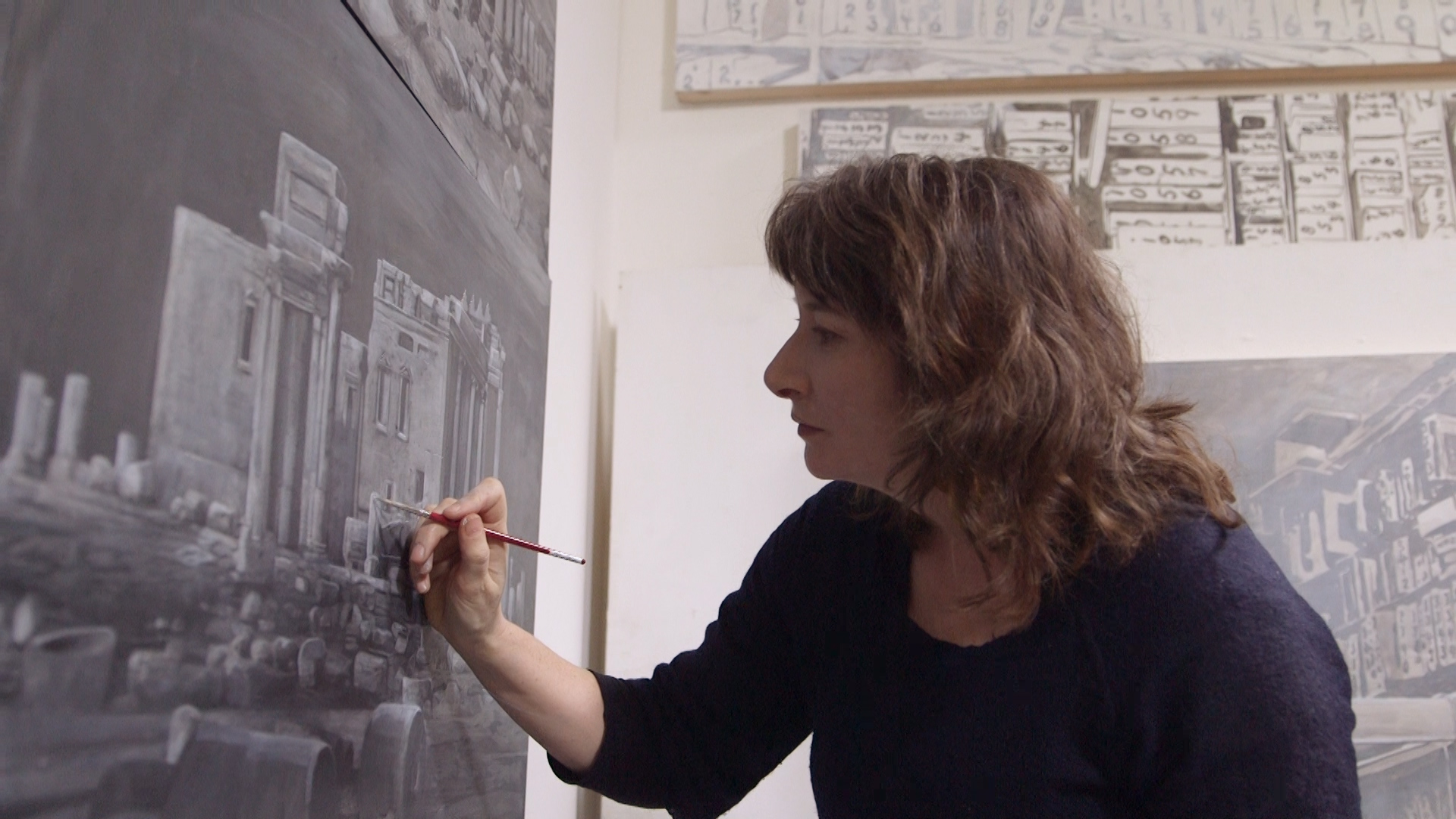 Ellen Harvey - Though she's been a successful visual artist for decades, Ellen Harvey remains obsessed with failure.Season 1, Episode 11
