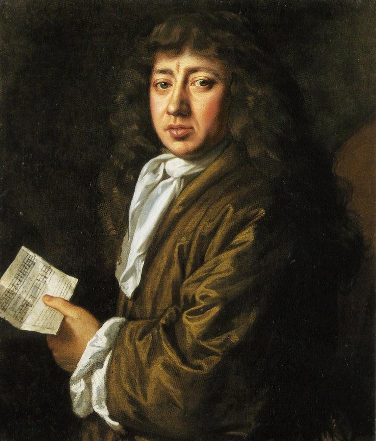 A Portrait of Samuel Pepys.