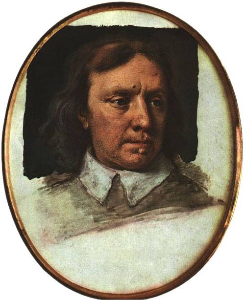 Samuel Cooper's miniature portrait of Oliver Cromwell