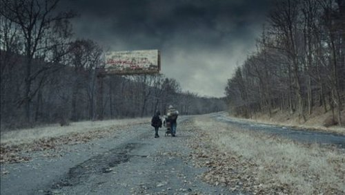 Still from the 2009 film adaptation of  The Road