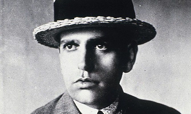 Andrade in 1920