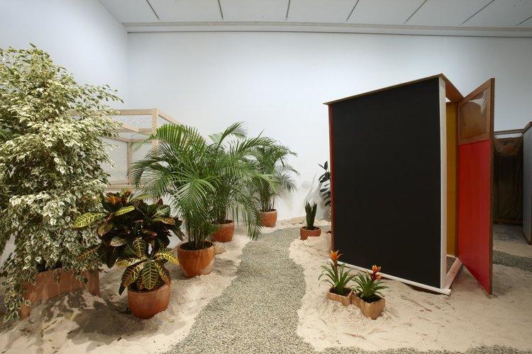 Hélio Oiticica's Tropicália installation. Credit:  M useo Nacional Centro de Arte Reina Sofía