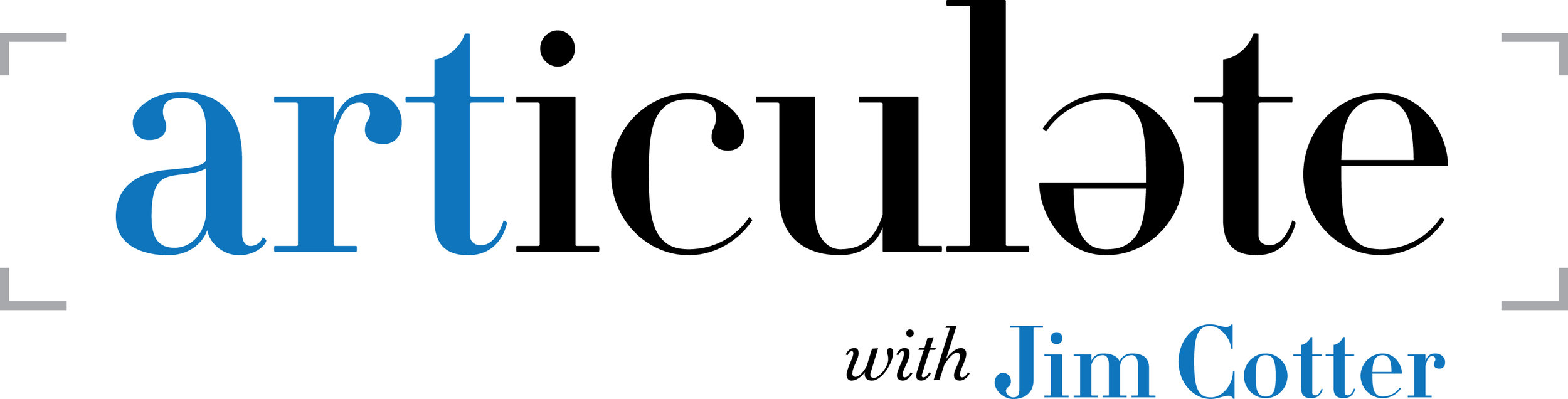 Articulate with Jim Cotter Logo