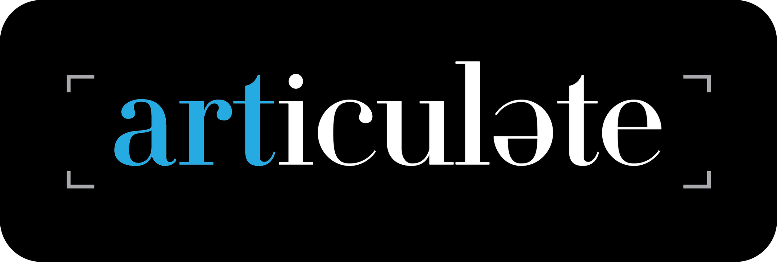 Articulate Logo (Inverted Colors)