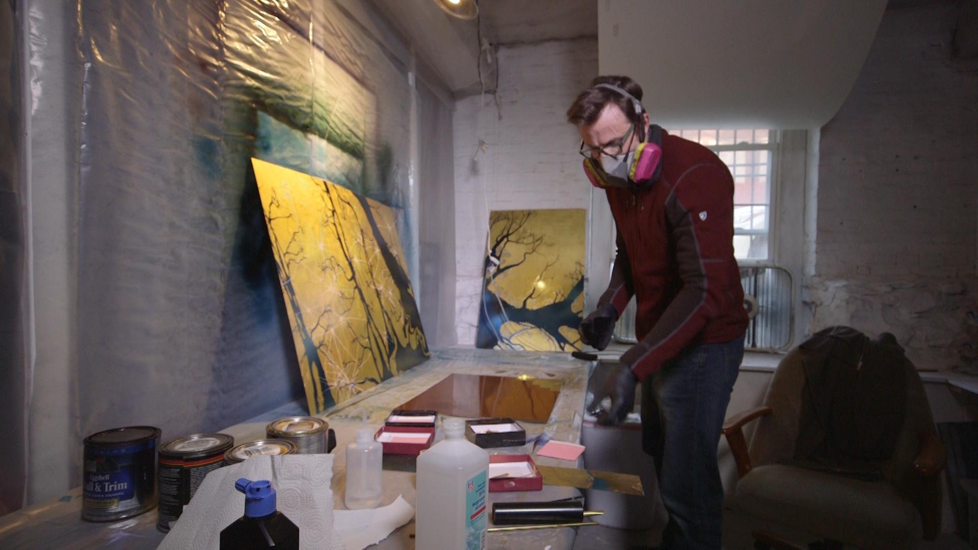 Gren Dunn working in his studio.jpg