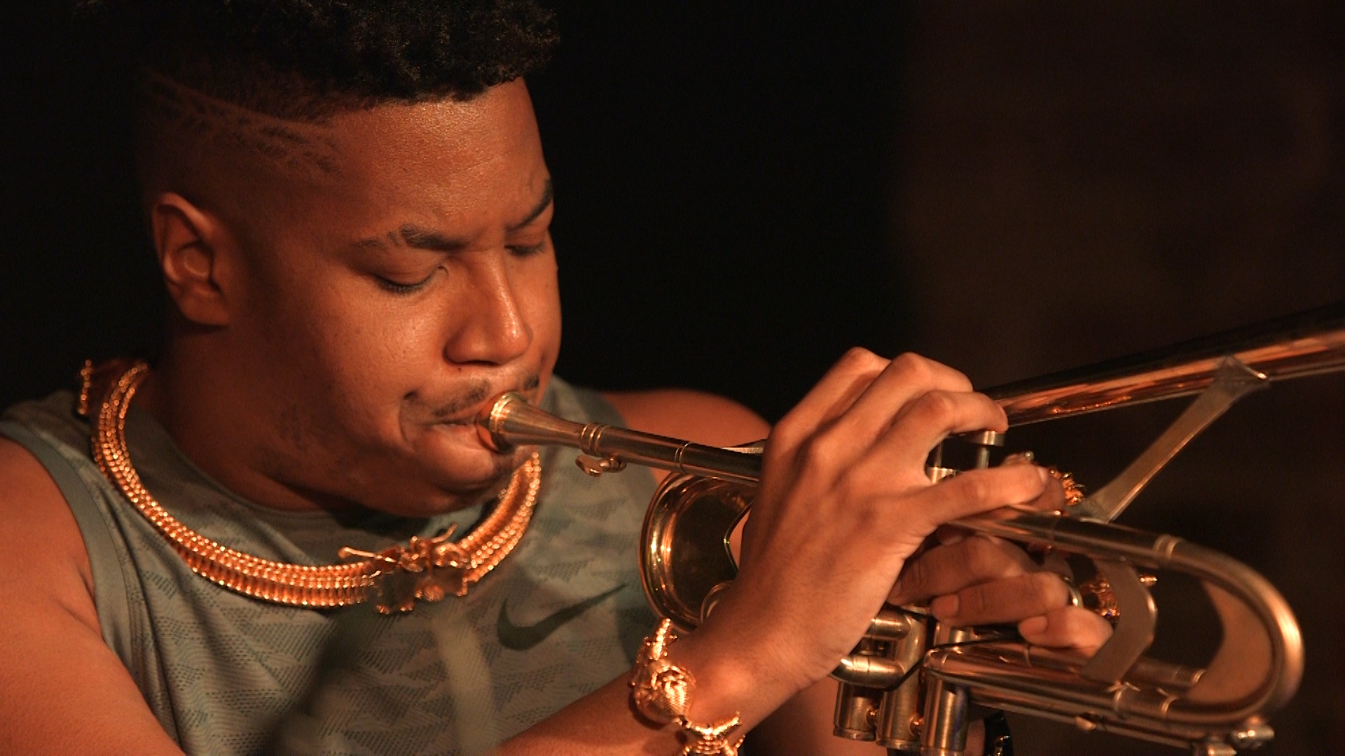 Christian Scott playing the trumpet at south 3.jpg
