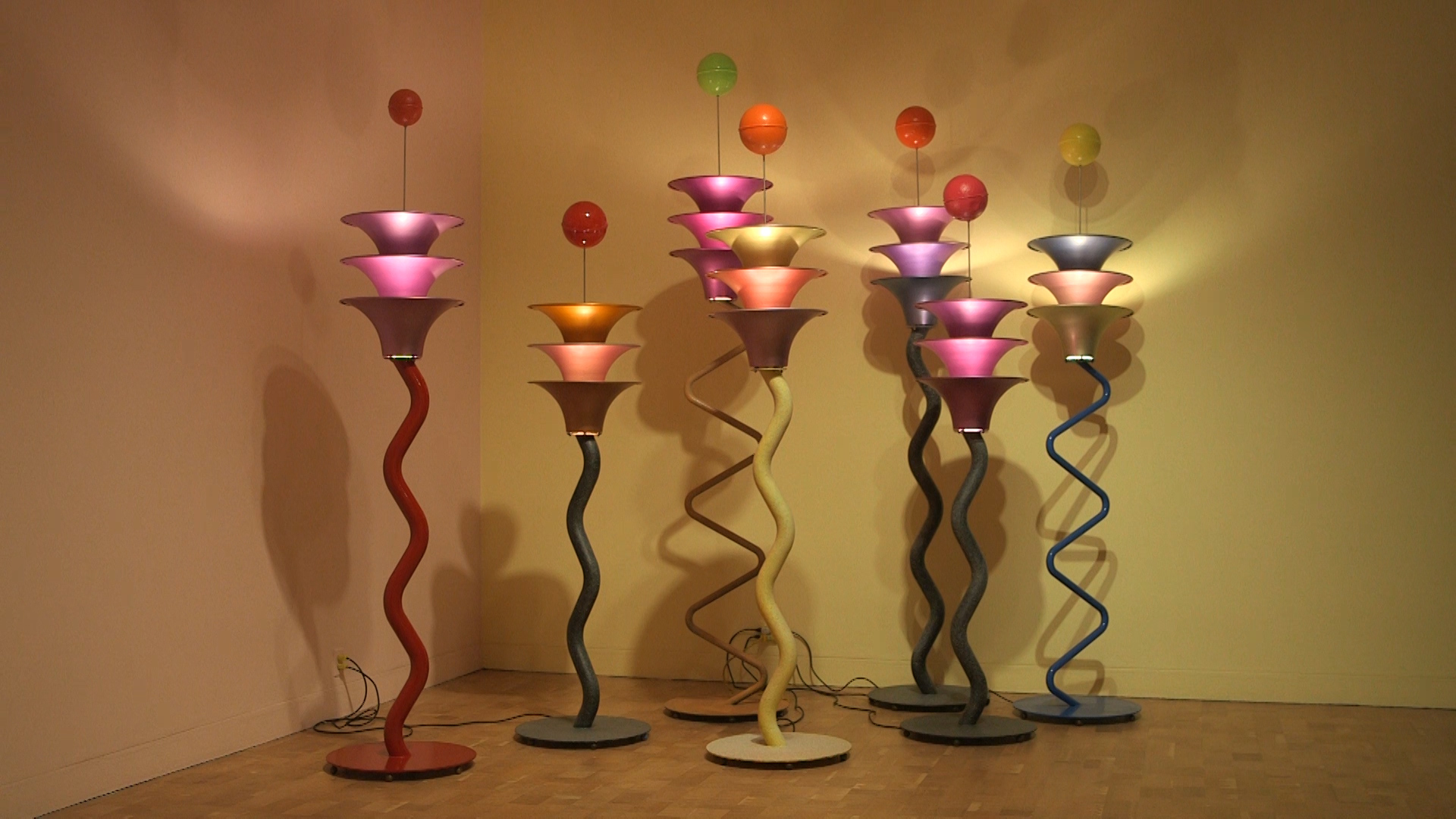 Peter Shire cool lamps.jpg