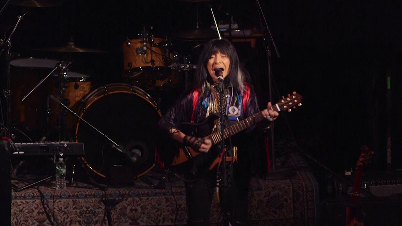 buffy sainte-marie's indefatigable spirit - Buffy Sainte-Marie's 1960s protest songs made her the subject of FBI attention.Season 2, Episode 10