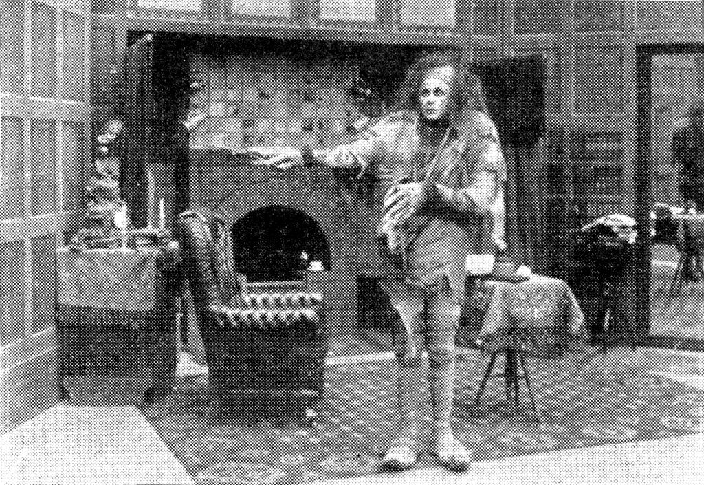 Frankenstein's monster, from the 1910 film adaptation of  Frankenstein.