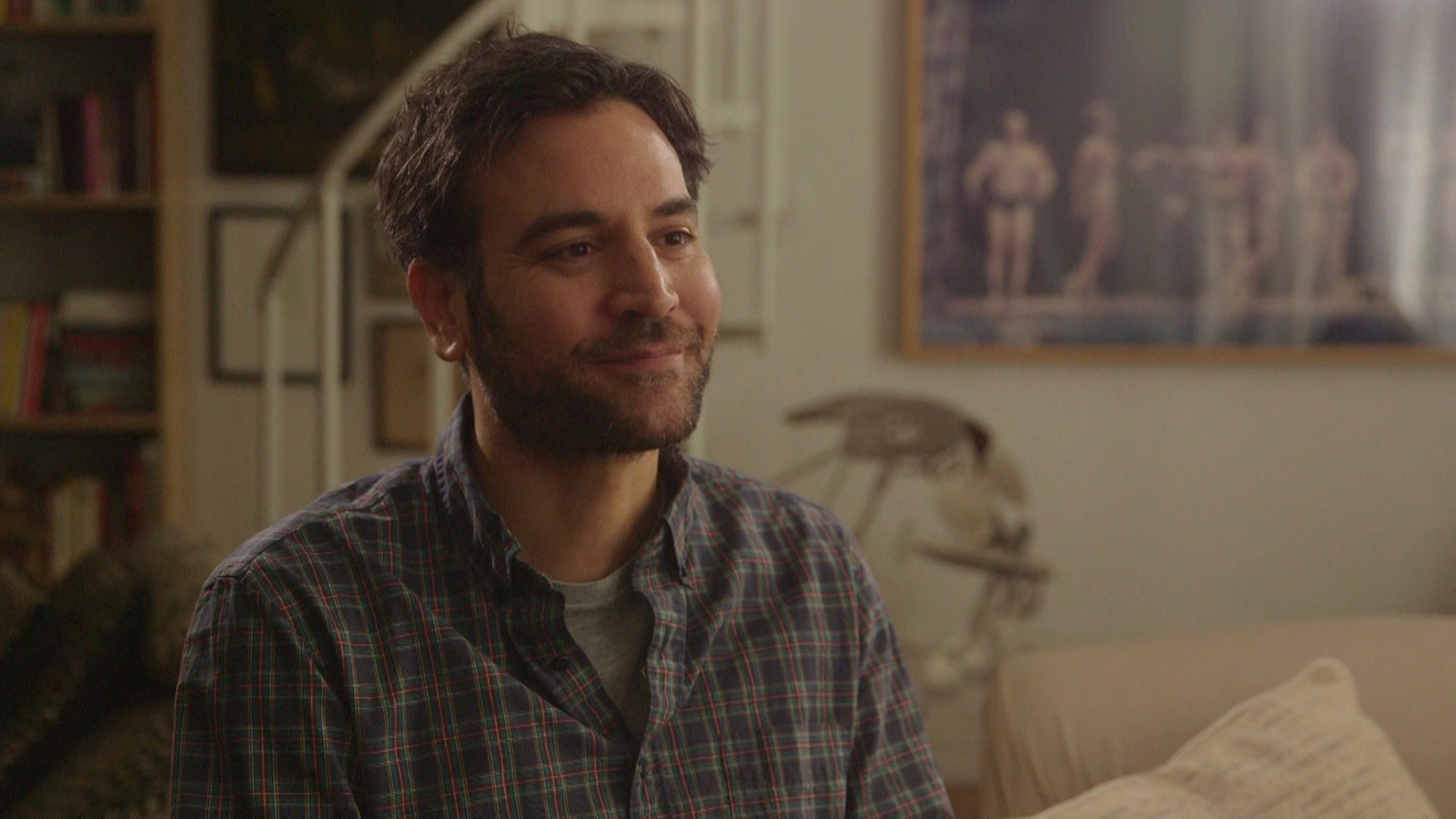 Actor-Writer-Director-Musician - Josh Radnor understood quickly that fame and fortune wouldn't make him happy.Season 3, Episode 10