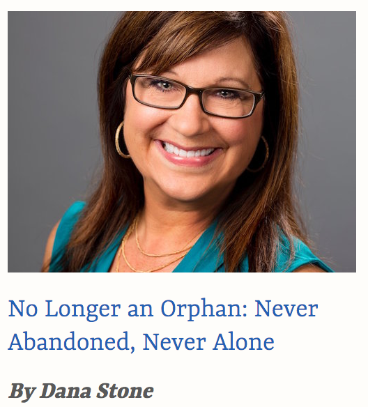 No Longer an Orphan