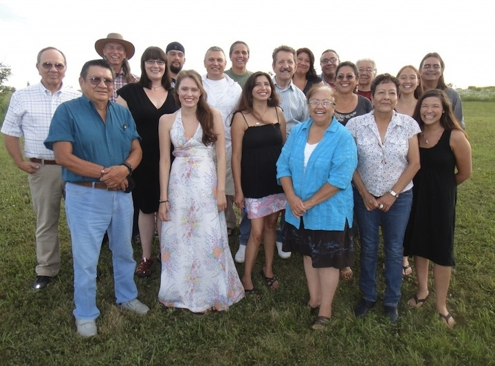 2011 Attendees of the annual Oak Lake Writers retreat.