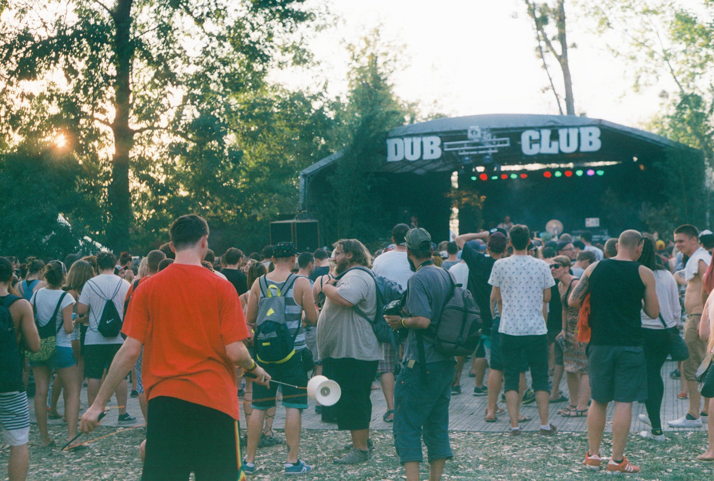 Dub club stage