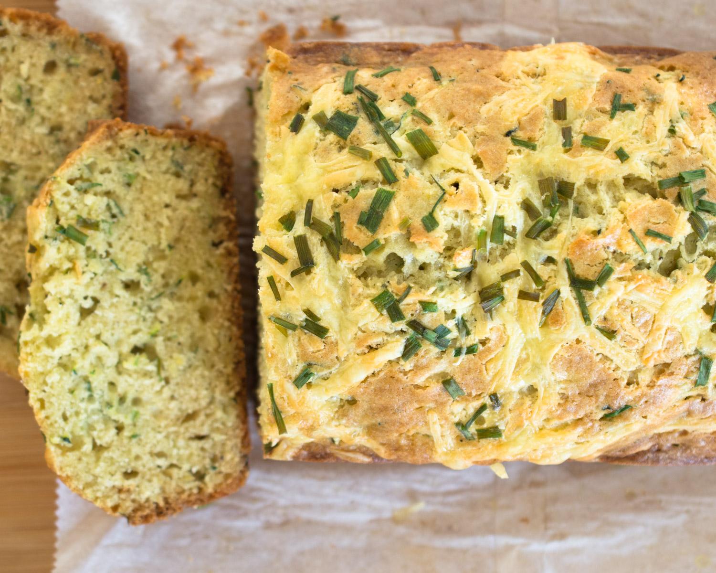 Cheesy Zucchini Bread.