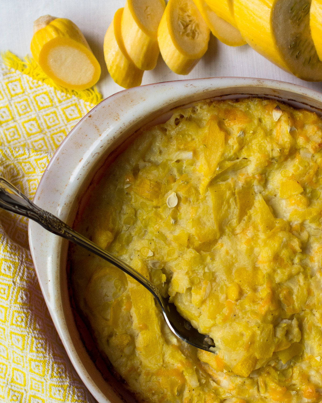 Cheesy Southern Squash Casserole