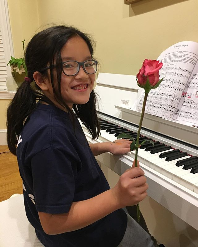 My piano student asked me to be her valentine and my heart can't handle it 😭❤️ step aside, @n0nni3