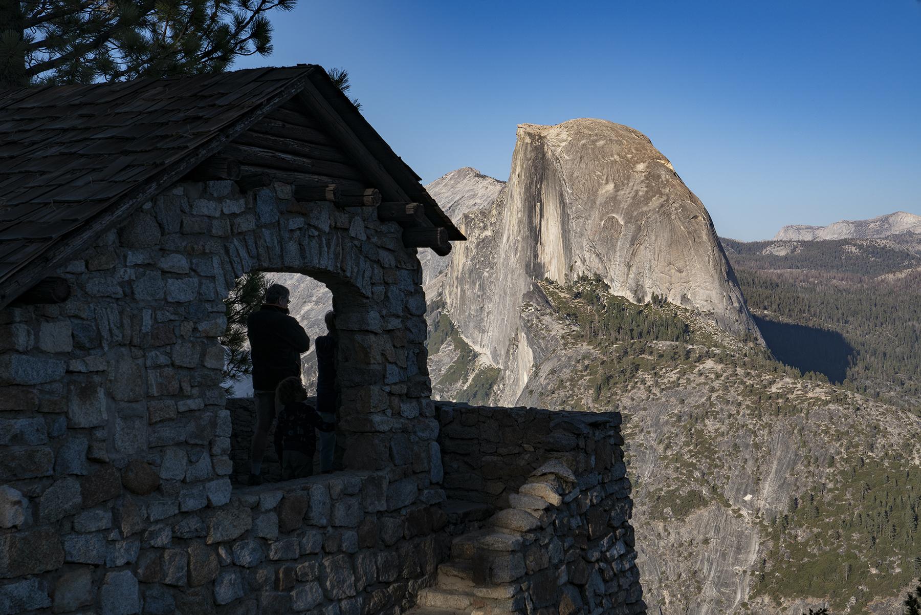 Observing Half Dome
