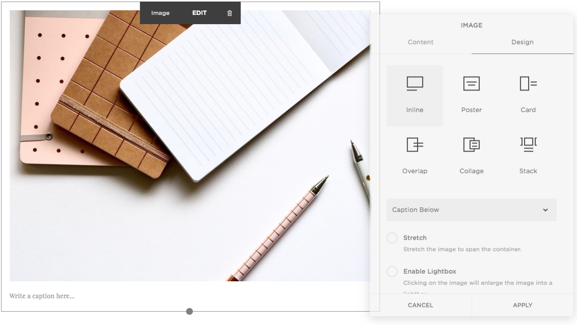 Squarespace | Squarespace Image Blocks | Incline