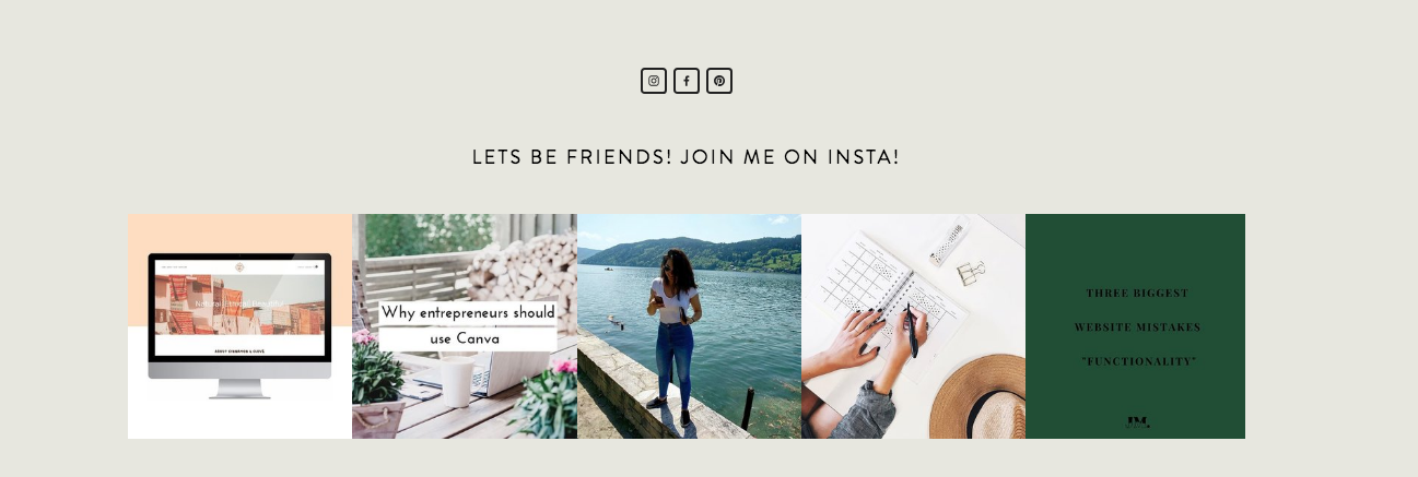 Squarespace | SEO | Social media