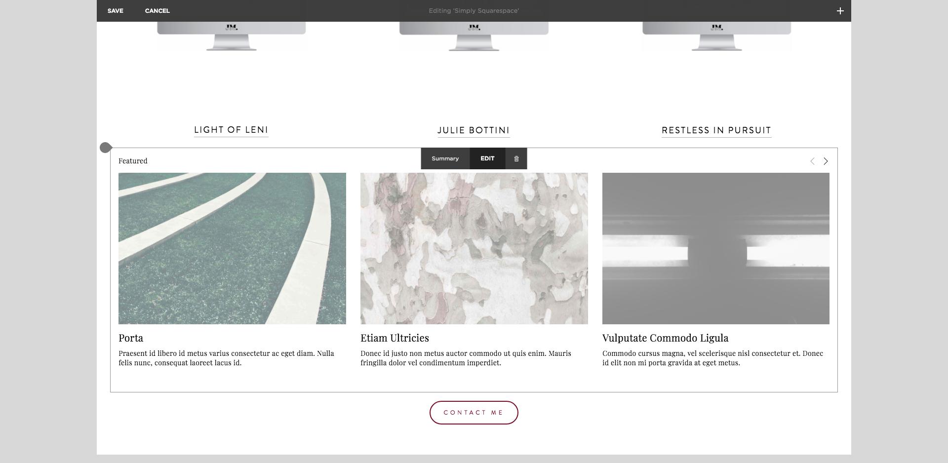 Squarespace Testimony Slider | Squarespace Design
