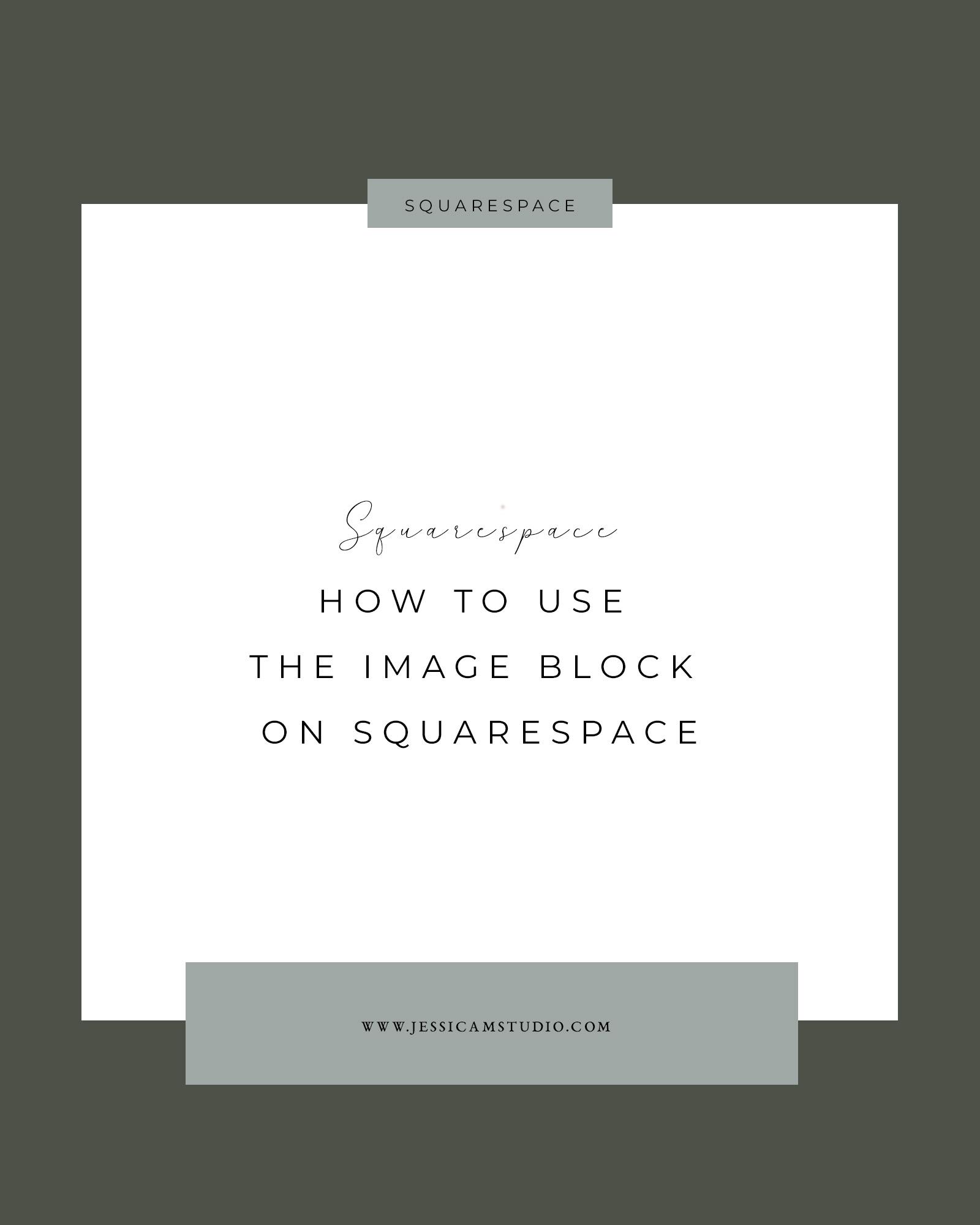 image block squarespace