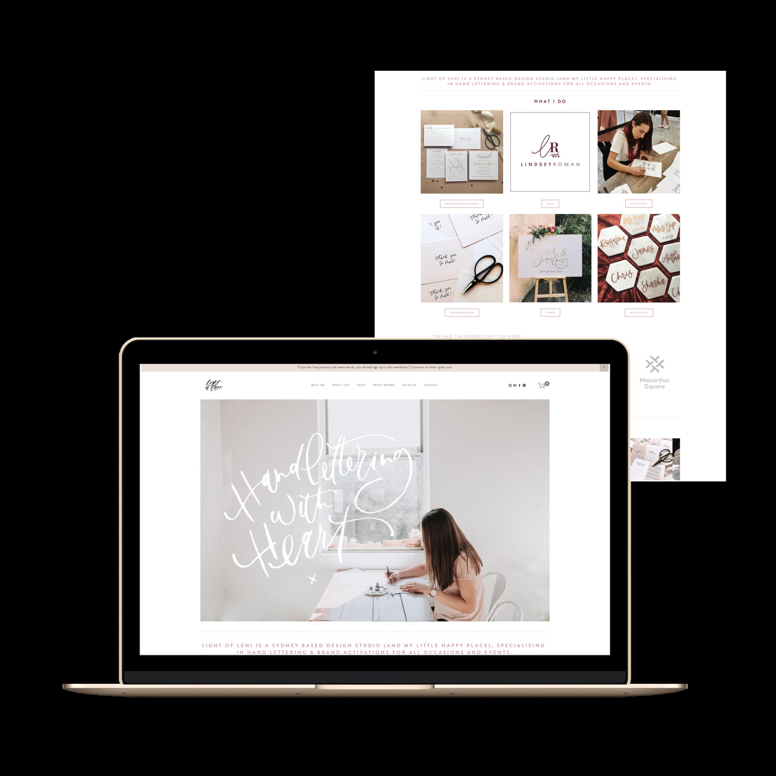 Web Designer | Squarespace | Web Design | Shopify