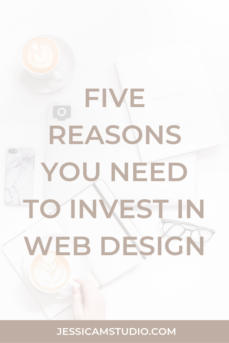 five reasons you need to invest in web design