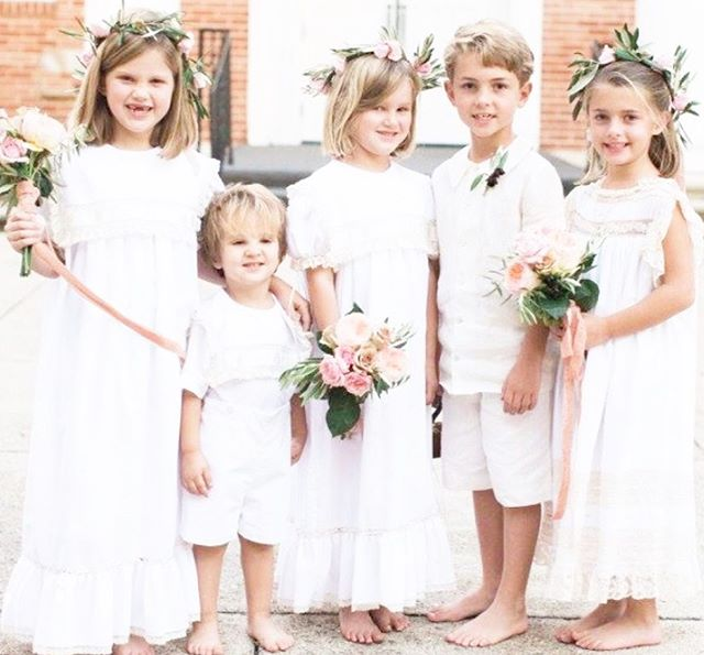 Barefoot children, French hand sewn frocks, soft flowers and yummy ribbons......these are a few of my favorite things!