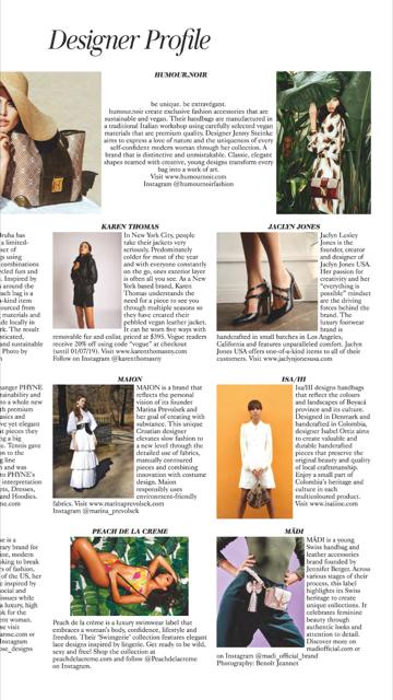 Mädi in British Vogue again… -