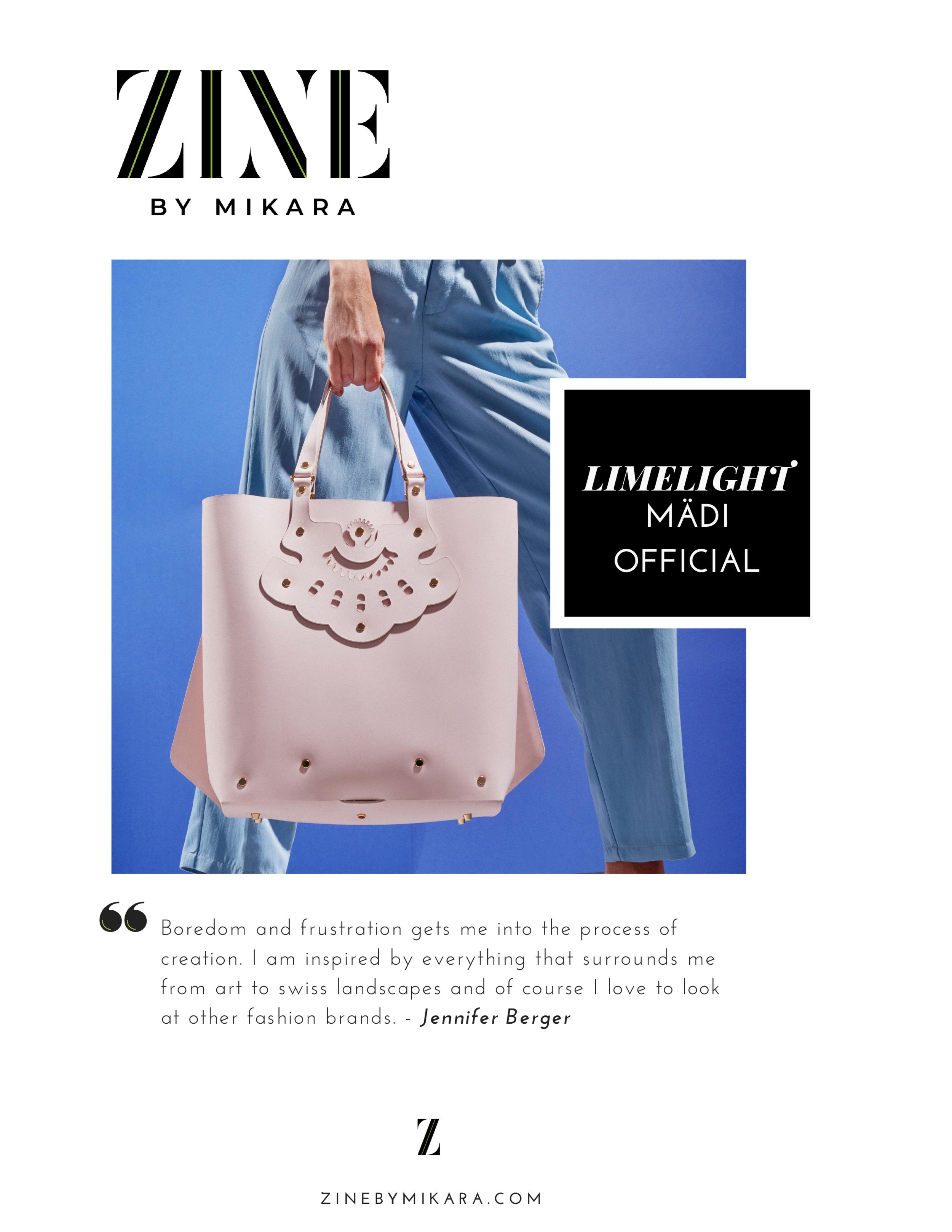 Interview - Zine By Mikara magazine